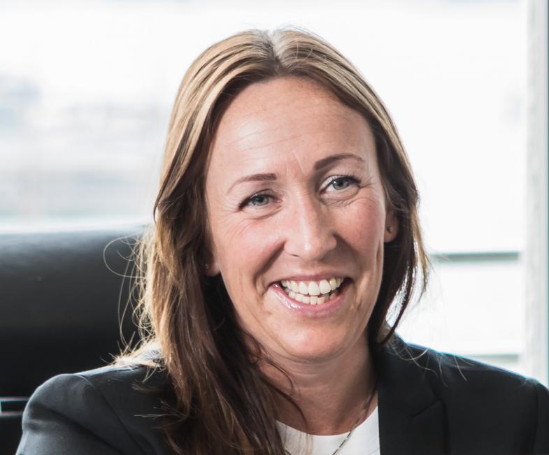 Therese G Skare er eiendomssjef i Malling & Co