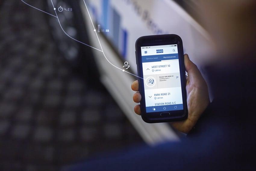 Illustrasjonsbilde_Serviceteknikkere-får-automatisk-beskjed-på-sin-telefon-når-heisen-trenger-tilsyn_web