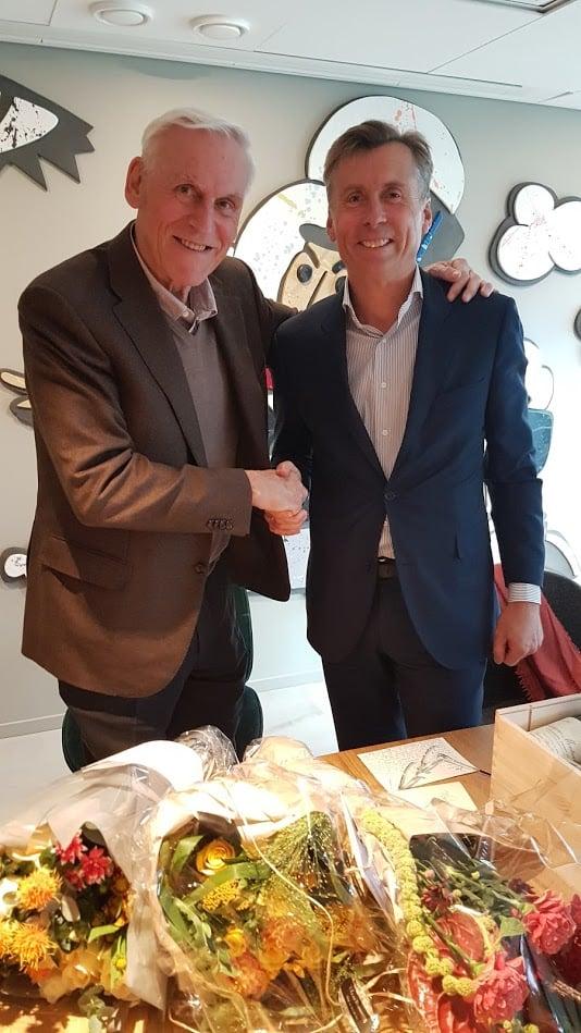 Peter T. Malling Sr. og Anders Berggren