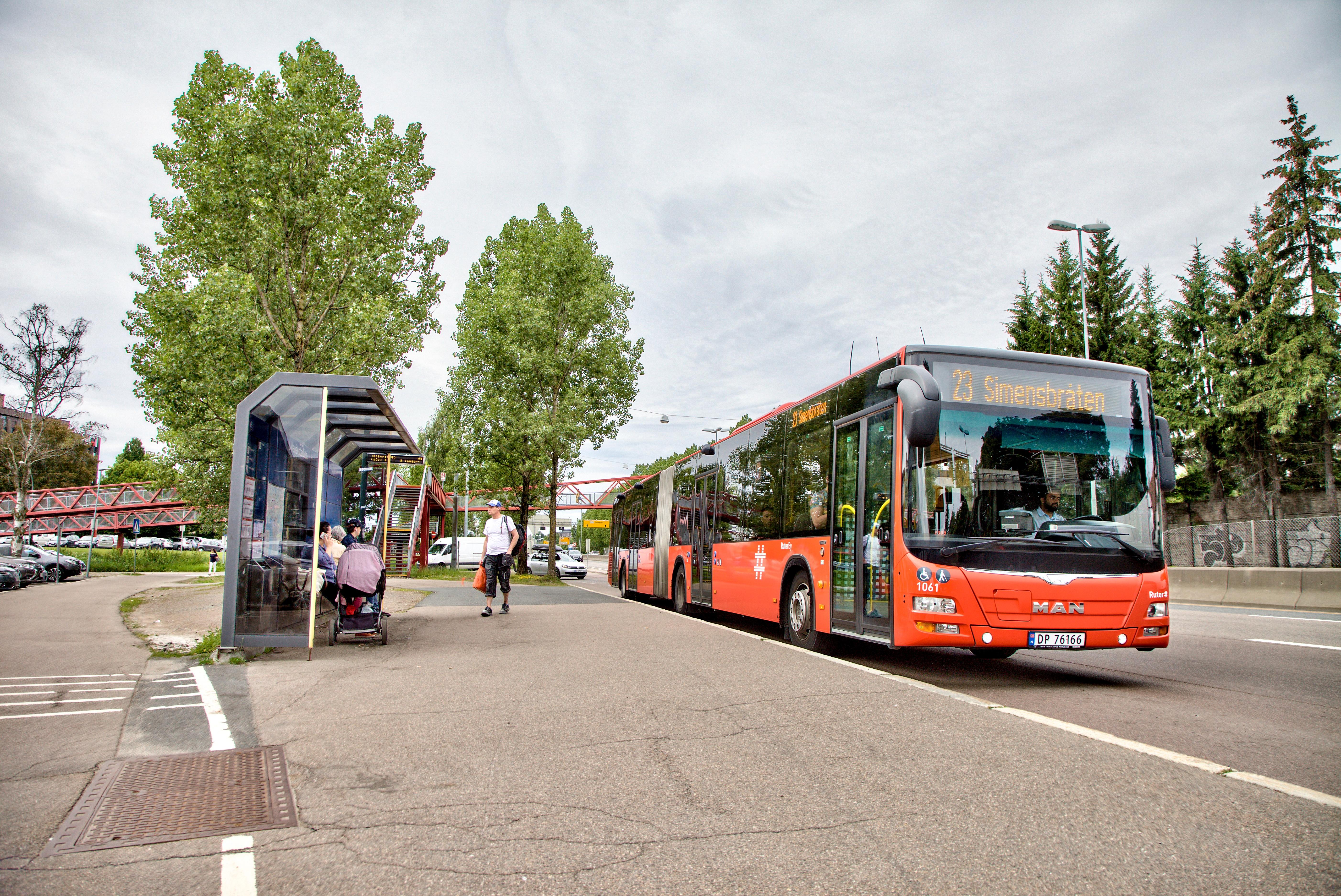 Buss holdeplass